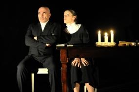 Dadina e Marangoni in scena